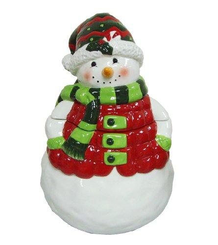 Ceramic Snowman Cookie Jar