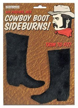 COWBOY SIDEBURNS - Buy COWBOY SIDEBURNS - Purchase COWBOY SIDEBURNS (Boo Factory, Toys & Games,Categories,Pretend Play & Dress-up,Costumes,Accessories)