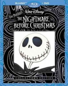 The Nightmare Before Christmas Collectors Edition Two-disc Blu-raydvd Combo from Touchstone / Disney