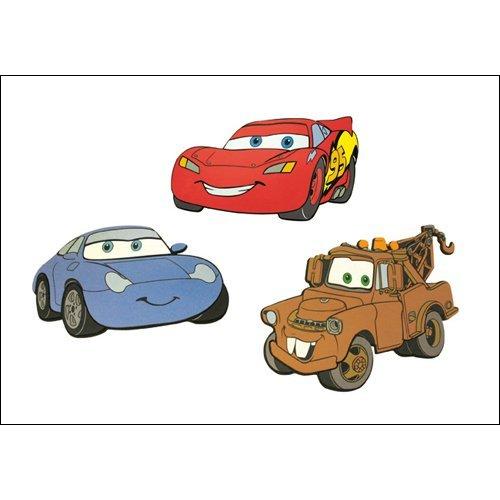 Disney Pixar Cars Foam Wall Art 3 piece Set McQueen, Sally, Mater : Lightning McQueen Toys