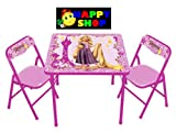 Kids Only Disney's Tangled Rapunzel Activity Table Set
