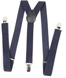 Atyourdoor Y- Back Suspenders for Men(Navybluesus1)