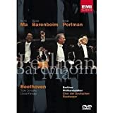 echange, troc  - Beethoven - Choral Fantasy and Triple Concerto for Violin, Cello & Piano / Barenboim, Ma, Perlman