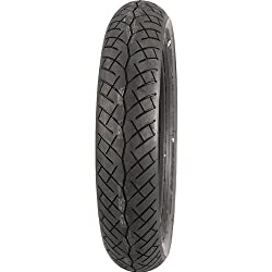 Bridgestone Battlax BT-45 High Performance Tire – Front – 110/70-17 , Load Rating: 54, Position: Front, Rim Size: 17, Speed Rating: H, Tire Application: Touring, Tire Construction: Bias, Tire Size: 110/70-17, Tire Type: Street 066095