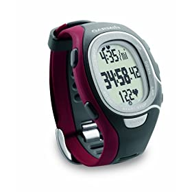 Garmin FR60 Men's Red Fitness Watch (Includes Heart Rate Monitor, USB ANT Stick)