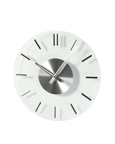 Mid Century Modern Glass Clock