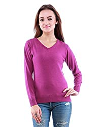 DOVE Womens V-Sweaters & Pullovers (XX-Large)