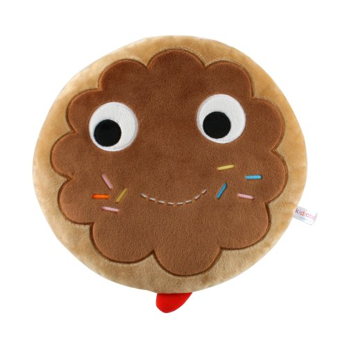 "Kidrobot 12"" Yummy Chocolate Donut Plush"