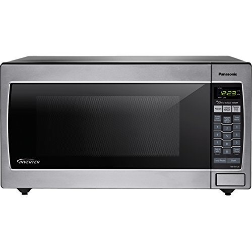 Panasonic NN-SN752-S Stainless Steel Genius Counter Top/Built-In Microwave Oven with Inverter Technology, 1250-watt
