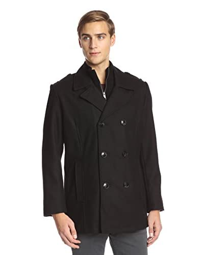 Marc New York Men's Joshua 31″ Wool Peacoat