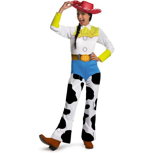 Disguise Women's Disney Toy Story - Jessie Classic Adult Costume