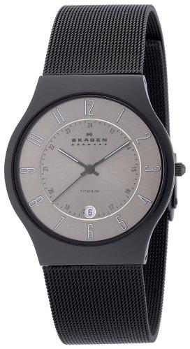 SKAGEN (スカーゲン) 腕時計 basic titanium mens J233XLTMBM ケース幅: メンズ [正規輸入品]