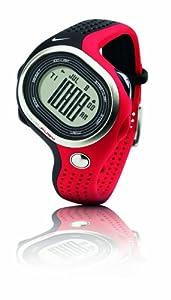 Nike WR0139012 100 lap Ladies Black and Red Running Digital Watch