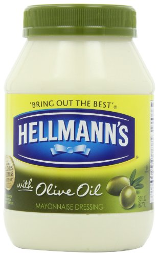 Hellmann's Mayonnaise with Olive Oil, 30oz (048001204362)
