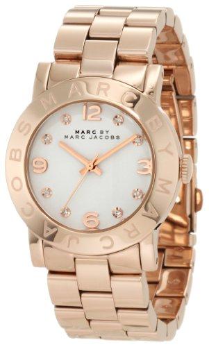 Marc by Marc Jacobs Amy Quartz White Dial Women's Watch - MBM3077