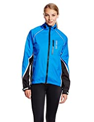 Showers Pass Women's Transit Waterproof Cycle Jacket - Blue/Black, Medium