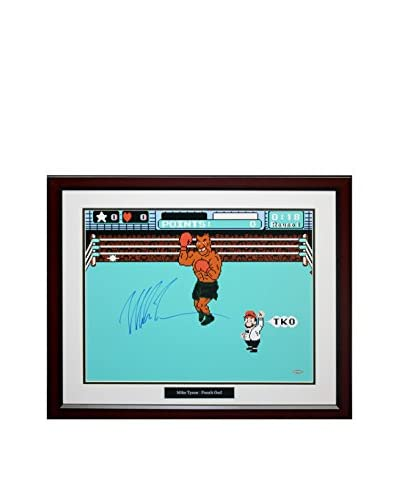 Steiner Sports Memorabilia Framed Mike Tyson Autographed 'Punch Out' Photo