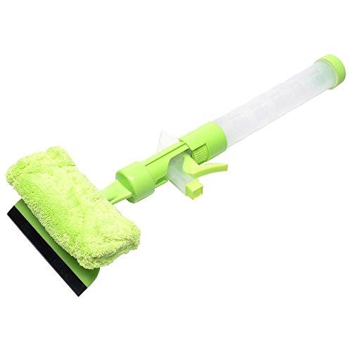 イーサプライ 窓掃除 ワイパー スプレー 付き EYS-CLN03