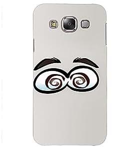 PrintVisa Cartoon Eyes Emotion 3D Hard Polycarbonate Designer Back Case Cover for Samsung Galaxy J2