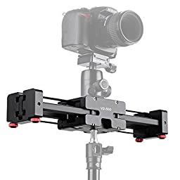CamerePlus® CP-V2-500 Compact size Pro Camera Track Dolly Slider Rail Shoot Video Stabilizer with 1/4\
