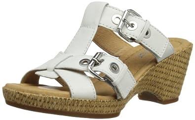 Gabor Shoes Gabor Comfort 82.745.50 Damen Clogs & Pantoletten, Weiß (weiss), EU 35.5 (UK 3) (US 5.5)