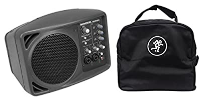 Package: Mackie SRM150 Powered (Class D Amp) Professional Personal Monitor/Speaker With Built In Equalizer + Mackie SRM150 Speaker Soft Travel Bag