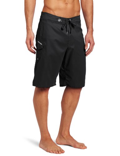 Volcom Men's Maguro Solid Board Short, Black, 30