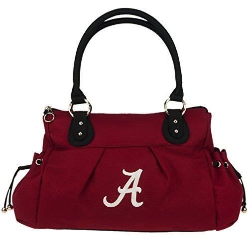 NCAA Alabama Crimson Tide Cameron Polyester Handbag, Small