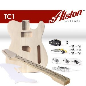Alston Guitars TC1 TC Style Cutaway Electric Guitar DIY Builder Kit | Bolt On