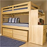 University Loft GRADBUNKSET Graduate Series Extra Long Bunk Bed Collection