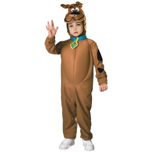 Scooby-Doo Child'S Scooby Costume, Small front-1020756