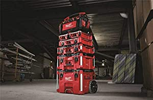 48-22-8430 Packout, 10 Compartment, Small Parts Organizer (Color: Red)