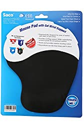 Saco Gelpad-01 Silicone Mouse Pad (Black)