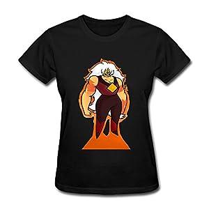 Meentre Women's Steven Universe Jasper T Shirt
