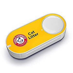 Arm & Hammer Cat Litter Dash Button from Amazon