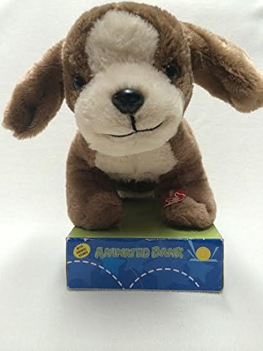 Animated Plush Puppy Bank - 1