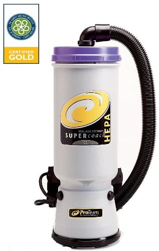 ProTeam Super Coach HEPA Backpack Vacuum