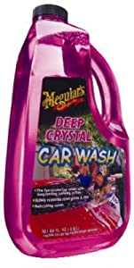 Meguiars G10464 64-oz. Deep Crystal Car Wash - Quantity 6