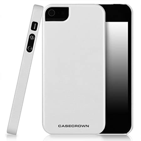 CaseCrown Cali Snap On Case (Coral Surf) for Apple iPhone 5