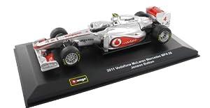 Jenson Button Vodafone Mclaren Mercedes MP4-28 2013 F1 Diecast Model Car 1:32 Scale