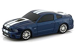 Ford Mustang GT Wireless Mouse (Blue)