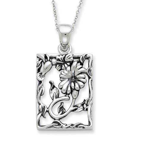 Sterling Silver Thank You For Your Kindness Sentimental Expressions Necklace
