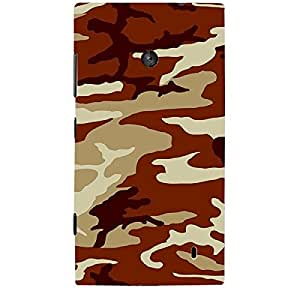 Skin4gadgets CAMOUFLAGE PATTERN 6 Phone Skin for LUMIA 525