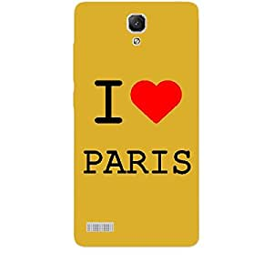 Skin4gadgets I love Paris Colour - White Phone Skin for REDMI NOTE