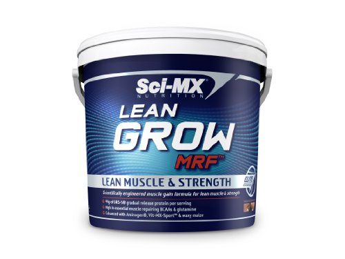 Sci-MX Nutrition Lean Grow MRF 5000 g Chocolate Cream Lean Muscle and Strength Shake Powder