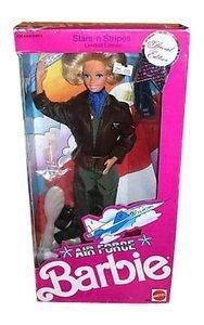 BARBIE Star 'n' Strips AIR FORCE by Mattel