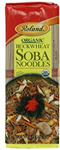 Roland Organic Buckwheat Soba Noodles, 12.8-Ounce (Pack of 30)