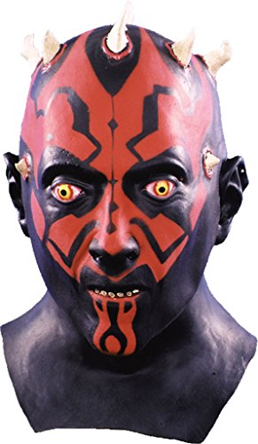 Star Wars Darth Maul Deluxe Latex Adult Halloween Costume Mask