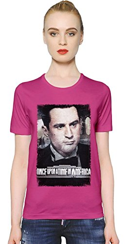 Once Upon A Time In America David T-shirt donna Women T-Shirt Girl Ladies Stylish Fashion Fit Custom Apparel By Slick Stuff XX-Large