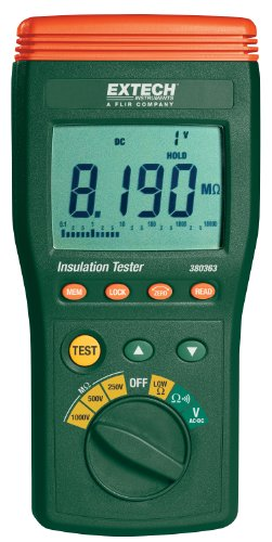 Extech 380363 Digital High Voltage Insulation Tester